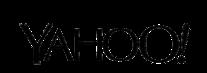 Yahoo logo black small